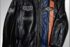 TOM TAILOR Leather Jacket Toyotyres Sport