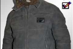TOM TAILOR Leather Jacket