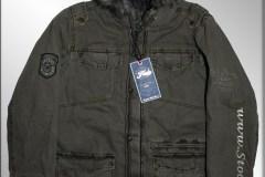 FRESH BRAND Jacket Anorak Khaki
