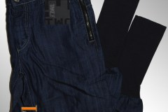 TAKE TWO Dark Blue (with elastic band) Jeans Italy